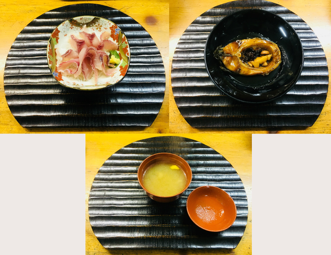 3 types of carp dishes